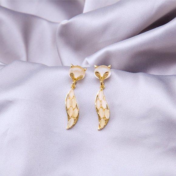 Jewelry - (BI) Fox earrings